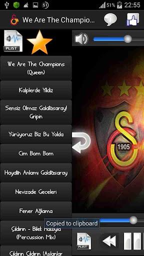 Galatasaray Marşları Stream