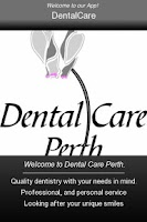 Screenshot of Dental Care Perth