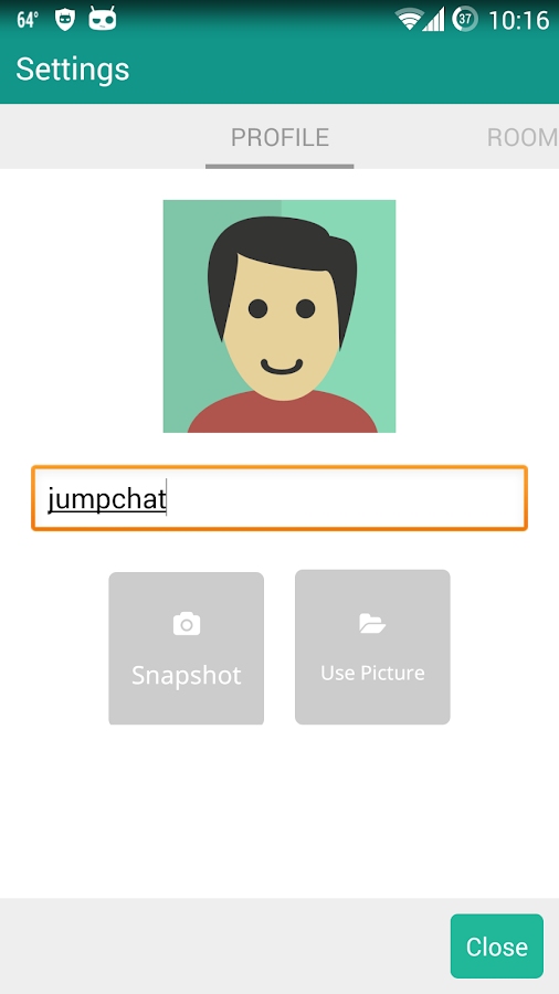 JumpChat- screenshot
