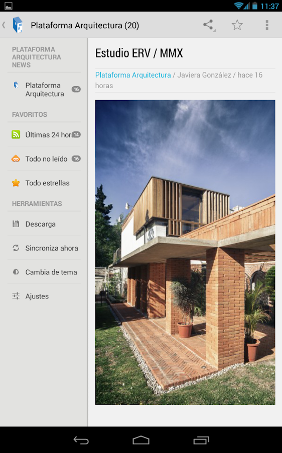 Plataforma arquitectura reader android apps on google play for Plataforma de arquitectura