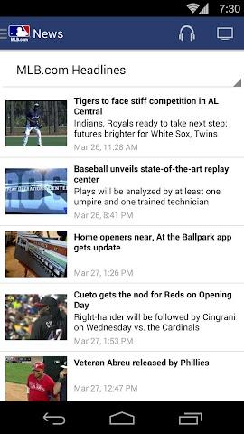 android MLB.com At Bat Screenshot 13