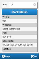 Screenshot of DSPro Stock Status
