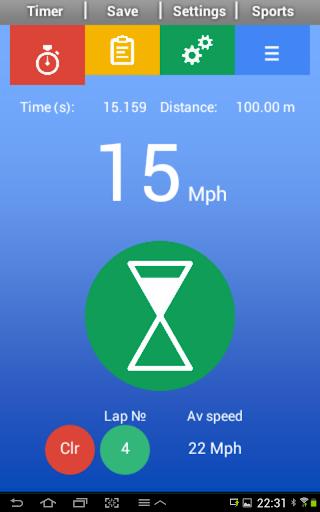 Sports Speed Clock Lite