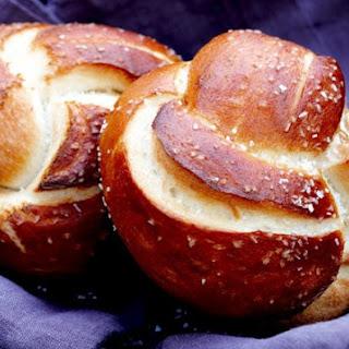 Pretzel Bread Rolls.