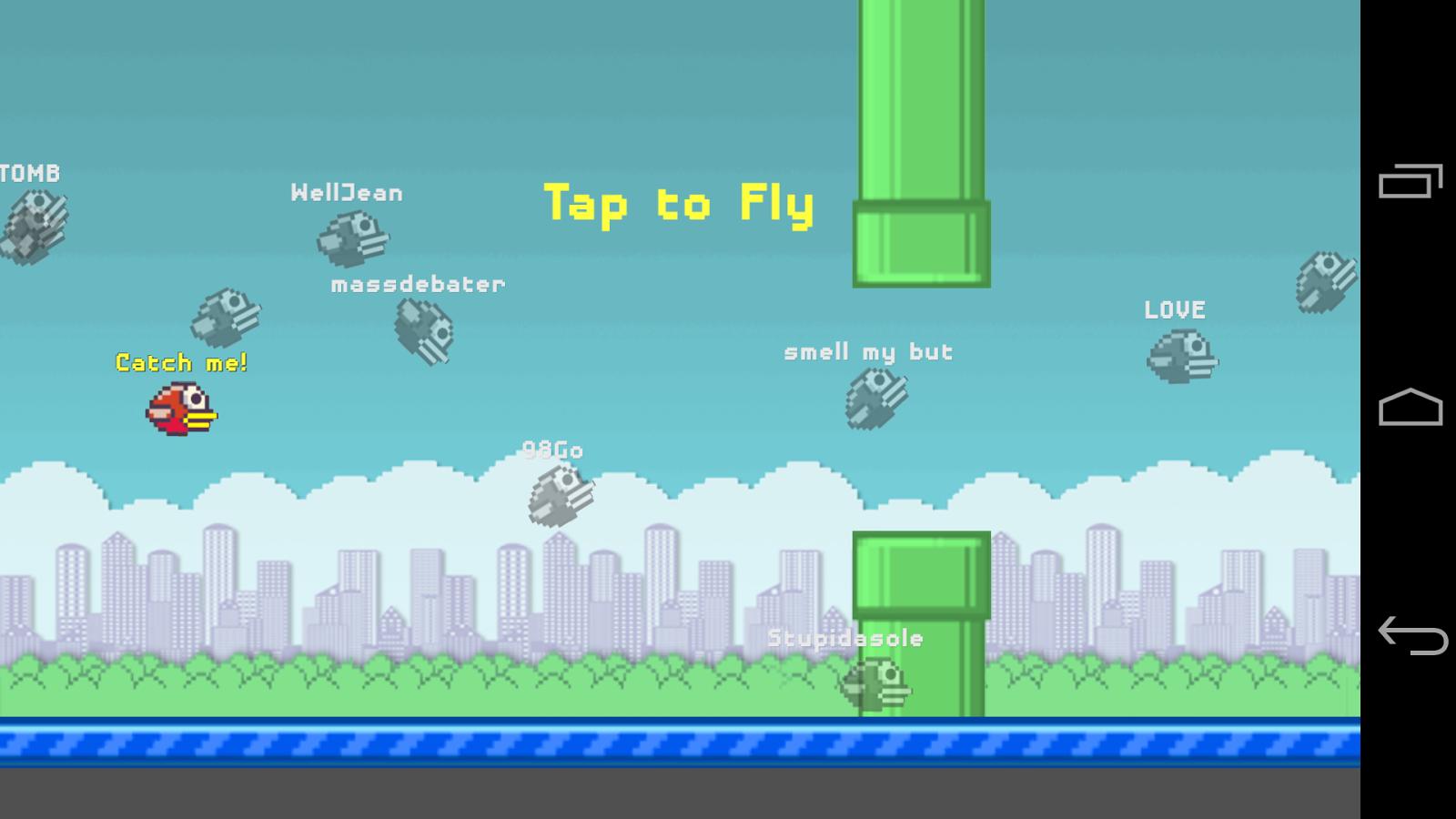 Floppy Bird Party - Flappy MMO - screenshot