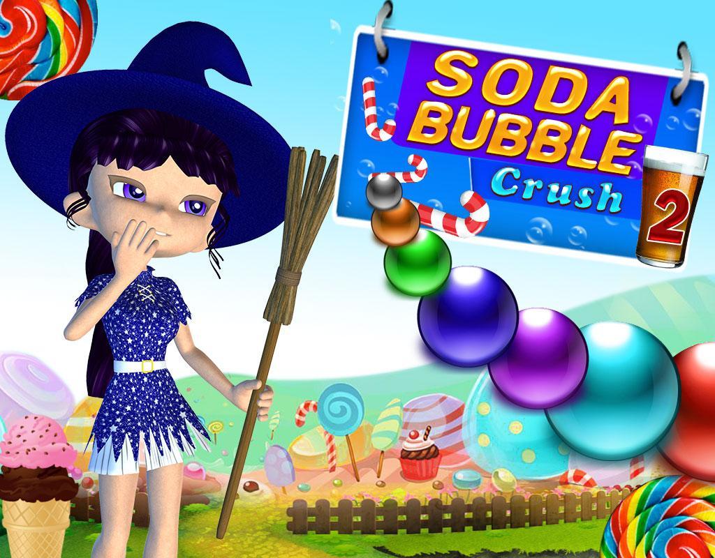 Fruit pop crush game - Soda Bubble Crush 2 Screenshot