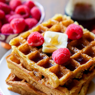 My Favorite Buttermilk Waffles