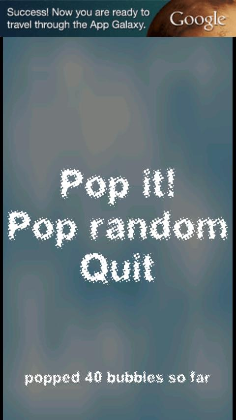 Pop it! Bubble Wrap - screenshot