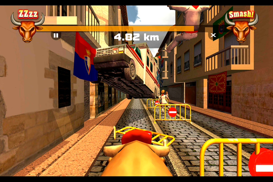 Pamplona Smash: Bull Runner - Android Apps on Google Play