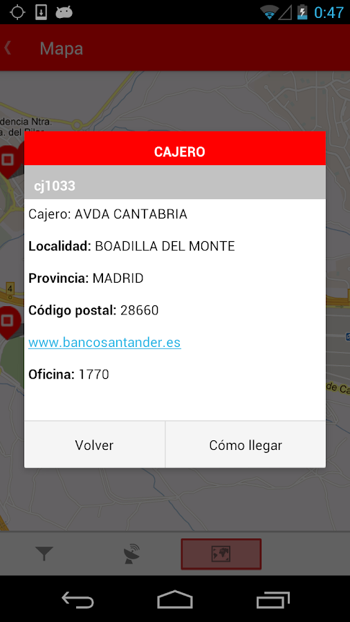 Santander - screenshot