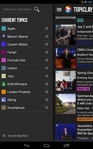 【免費新聞App】Topiclay-APP點子