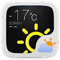 Easy GO Weather Widget Theme APK