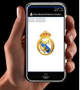 Real Madrid Emblema Giratorio