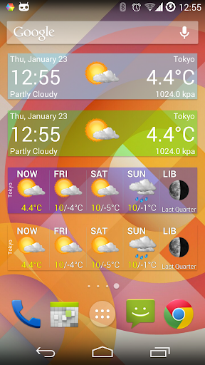 Weather Widget Forecast App