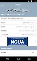 Screenshot of Atlantic City FCU