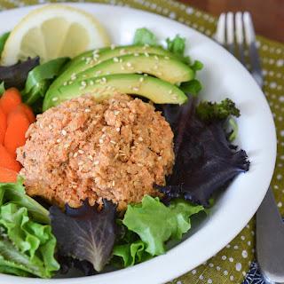 Seasoned Tempeh-Quinoa Salad