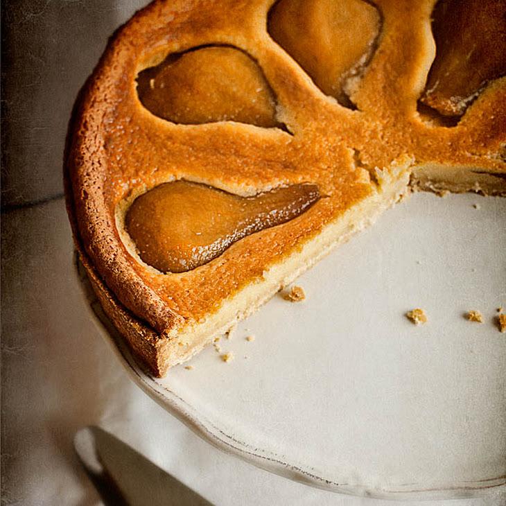 Pear and Almond Cream Tart Recipe