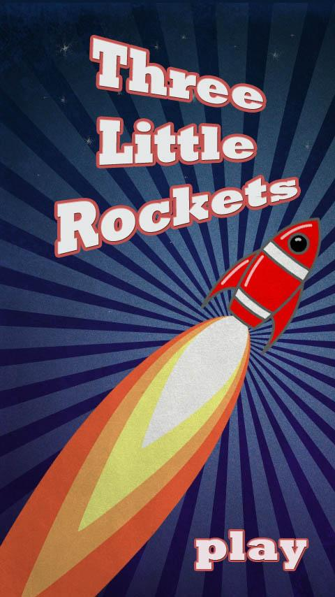 Three Little Rockets - screenshot