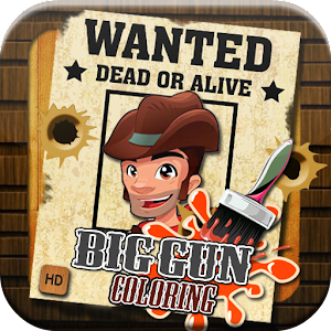 Big Six Guns Coloring for Android