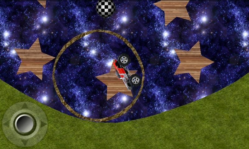 Wheelz - 2d physics platformer - screenshot