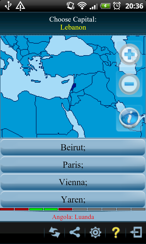 Countries Info Free - screenshot