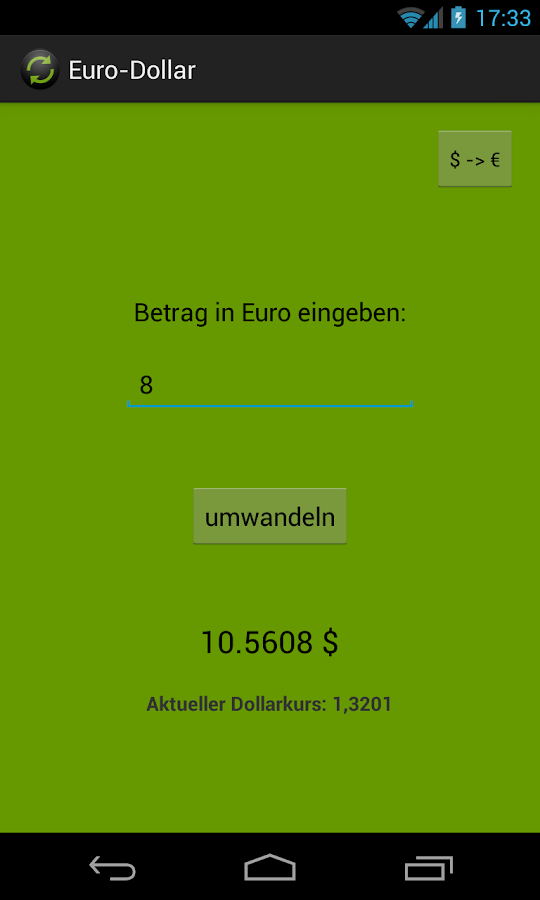 Euro-Dollar - screenshot
