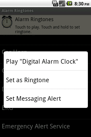 Alarm Ringtones - screenshot