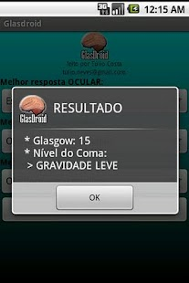 GlasDroid - Glasgow Coma - screenshot thumbnail