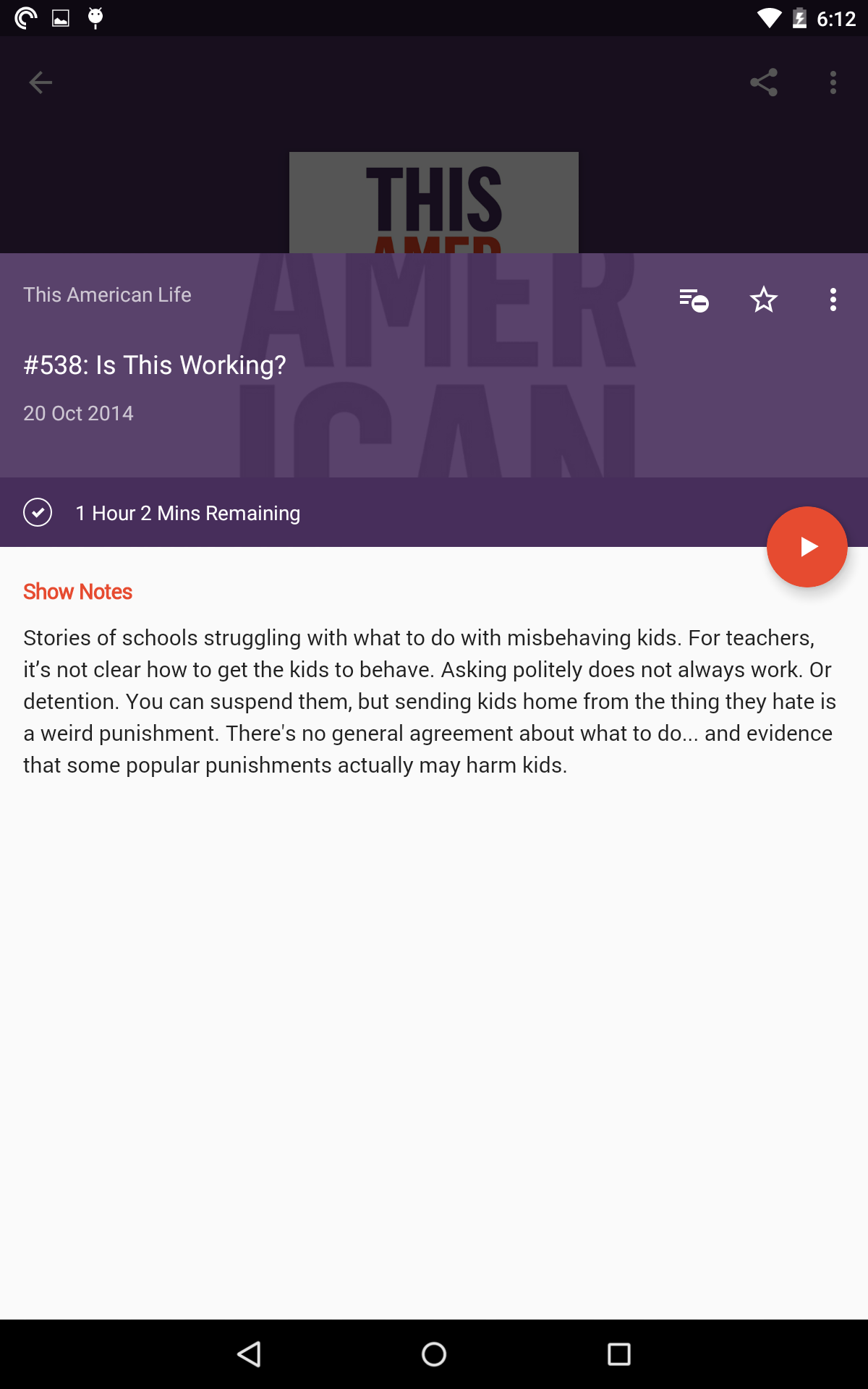 Pocket Casts screenshot #15