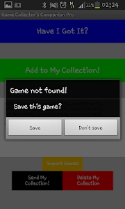 Game Collectors Companion FREE screenshot 1