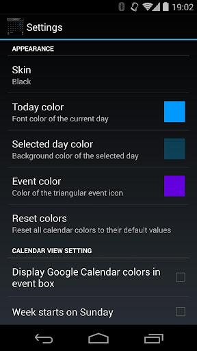 玩生產應用App|Droid Calendar Widget免費|APP試玩