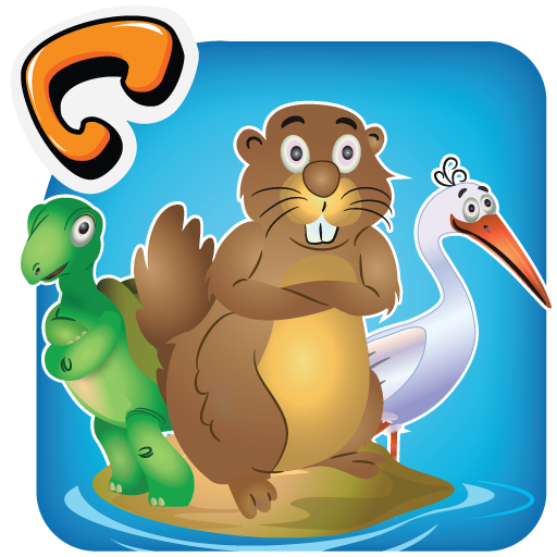 Animal Pond- Kids Draw & Paint 教育 App LOGO-硬是要APP