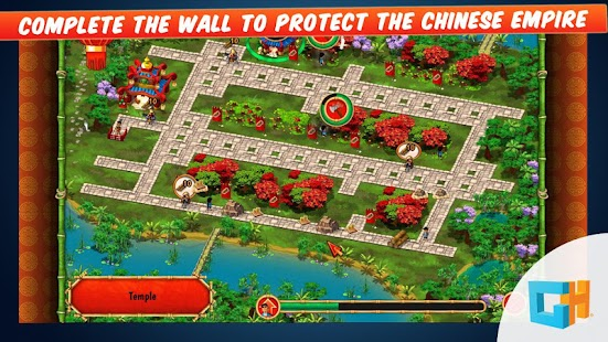 建设长城Building the China Wall|玩不用錢策略App-玩APPs