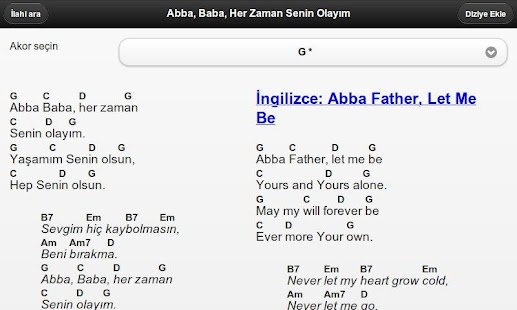 Worship Leader (Turkish)- screenshot thumbnail