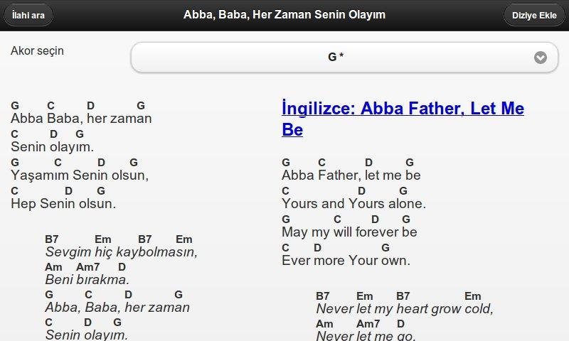 Worship Leader (Turkish)- screenshot