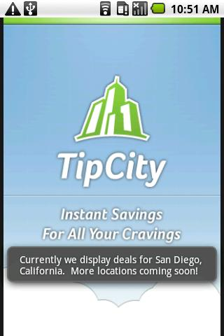 TipCity - screenshot
