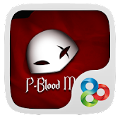 Blood Mask GO Launcher Theme
