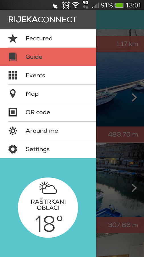 Rijeka Connect- screenshot