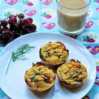 Egg-Free Veggie Frittatas