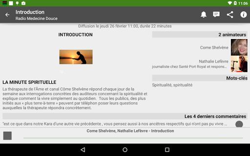 【免費音樂App】Radio Médecine Douce-APP點子