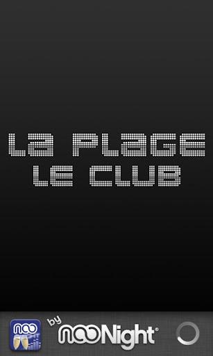 La Plage Le Club