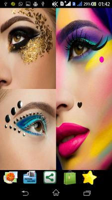 Creative Eyeshadow Photography - screenshot