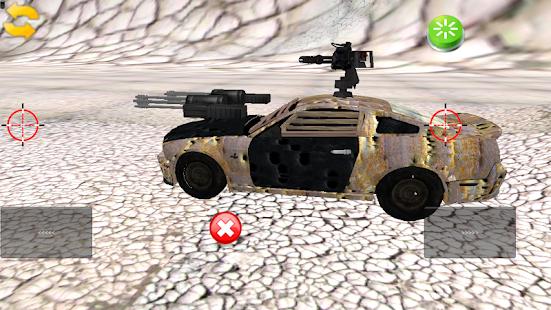 Toddler 3D Warrior Car Toy