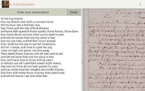 Tudor and Stuart Handwriting- screenshot thumbnail