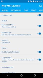 Wear Mini Launcher - screenshot thumbnail
