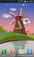 Screenshot of Windmill and Pond LWP (Free)
