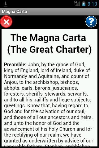 Magna Carta Reader