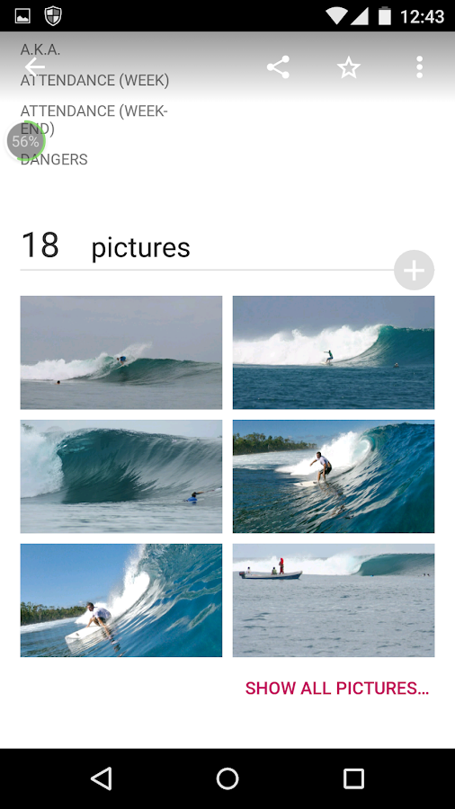 Wannasurf - Surf spot atlas- screenshot