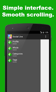 SocialLine for Feedly screenshot 0