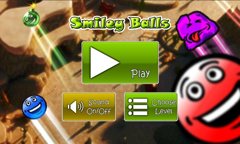 Smiley Balls- screenshot